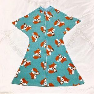 BRAND NEW Zipadee-Zip Baby Sleeper with Foxes